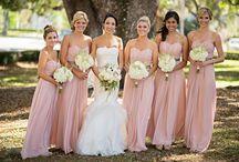 kleur skema - bruidsmeisies rokke