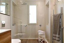 Baño ducha amplia