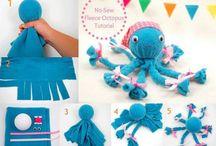 Fleece Crafts / Great craft ideas for fleece!