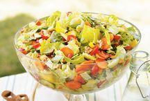 Recipes: Salads / by Liz Healy