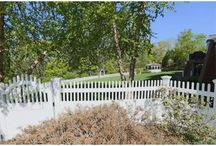 """Marshfield, Massachusetts - Fences & Gates / Lovely landscaping, fences, arbors, gates, and gardens in Marshfield, Massachusetts.  Turn to AVO Fence & Supply to create YOUR """"Beautiful Borders""""."""