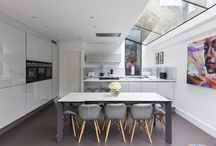 Kitchen Inspiration / An architectural appreciation of Kitchen extensions. Both extensions we've worked on or just inspiration from others.
