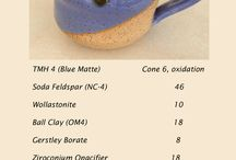 Glaze Recipes / by Jeni Maly