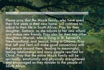 The Mazik's in SA / Life and Ministry in South Africa