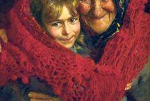 I nonni, queste meravigliose figure!! / In memoria della mia cara mamma, del mio adorato padre e del mio adorato nonno !!!