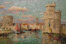 Cityscape mosaic