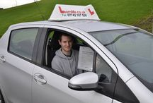 Passed my test. / Learn Me Driving School pupils who have passed with us.