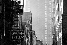 Berenice Abbott Fransk/Amerikansk fotograf / Gl. foto fra USA