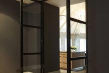 Deuren in huis / Van taatsdeuren tot schuifdeuren en van draaideuren tot en suite deuren. Welke vind jij het mooist?