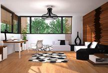 Pomysły na urządzenie wnętrza domu lub mieszkania