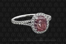 Color Engagement Rings