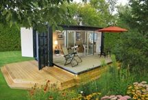 Smaller Spaces / Tiny Homes, Micro Dwellings, Treehouses, RVs and other small space designs/tips/ideas / by Angela Fuller