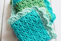 Crochet dishcloths.