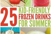 Kids Food & Drink Ideas For Summer