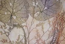 etchings & linocuts