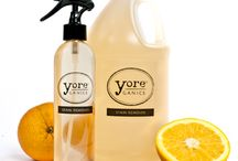 green cleaning / by Yoreganics