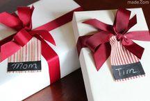 Christmas card & tag ideas / by Cynthia Thomas