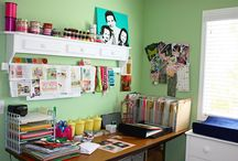 Ideas for my Craft Room / by Kelley Cowley