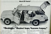 FIAT/Murat 131 / After FIAT 124, 131 is the second FIAT model constructed in Turkey.