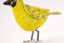אומנות- חיות ודמויות מחרוזים- Beaded Animals / by Nava Greenstain