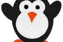 Pinguim chá de cozinha