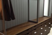 Our Work - Dressing Rooms / Bespoke dressing room design for residential projects.