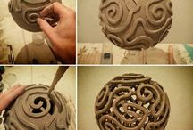 Carved ceramics
