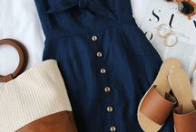 Summer Fashion Outfit Ideas / Summer Fashion Outfit Ideas for women.  A board that give inspiration for summer outfits.  Look here for summer outfit ideas.