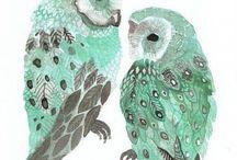 Illustrations ... Animal ... Owl