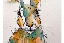 Watercolour & mixed media inspiration