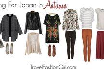 Packing for November in Japan