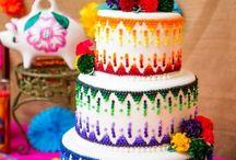 Spanish theme cake