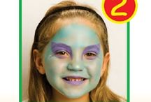 maquillajes infantiles