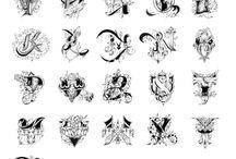 letras tipograficas