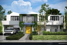 Architectural 3D Rendering, 3D rendering  / This is residential project 3d rendering and design by SPACIALISTS. Spacialists - Is a visualization and design firm