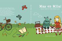 Max en Mila / Mijn eerste kinderboek: Max en Mila, Samen lezen en leuke dingen doen.