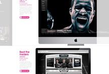 Site Design / Website design inspiration