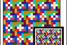 Scrap Quilt Challenge Inspiration Board