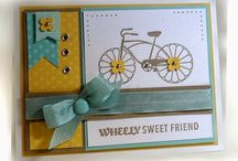 Bicycle themed cards