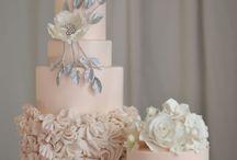 Pink/Blush wedding cakes