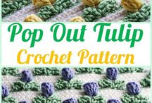 Pop out tulipstitch
