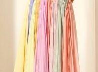Vestidos do arco-íris