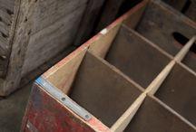 Vintage Crates & Boxes