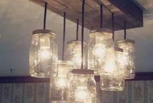 lustre, lampe