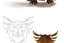 CrD - Mash-ups - Creature Design / Characters that look like a combination of creatures