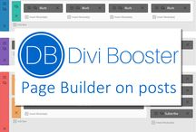 Divi Booster plugin / The divi Booster is a plugin, which adds more than 50 addiotional functions to the Divi theme by Elegant Themes. The developer of the plugin is Dan Mosoop