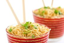 Food-Ramen Noodle / by Dawn