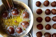 Homemade Glazed Chocolate Doughnut Holes Recipe from justataste.com