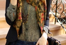 Love the Look! Scarves, vests & layers