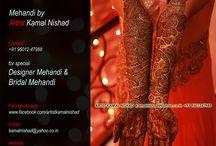 Mehndi (Henna) Art by - Artist Kamal Nishad